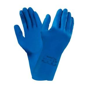 Guantes de protección química de látex de caucho Versatouch® 87-195