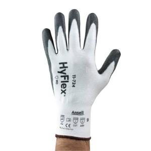Guantes de protección de corte con recubrimiento de poliuretano HyFlex® 11-724