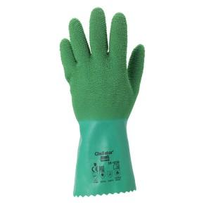 Guantes de protección química de látex de caucho Gladiator® 16-650