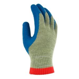 Guantes de protección corte y calor recubierto de látex de caucho PGK10 BL