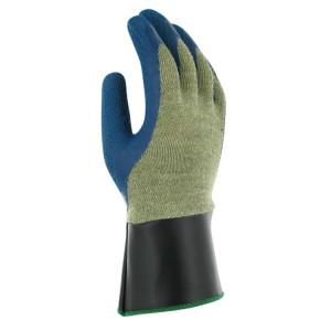 Guantes de protección corte y calor recubierto de látex de caucho PGK10 BL SC