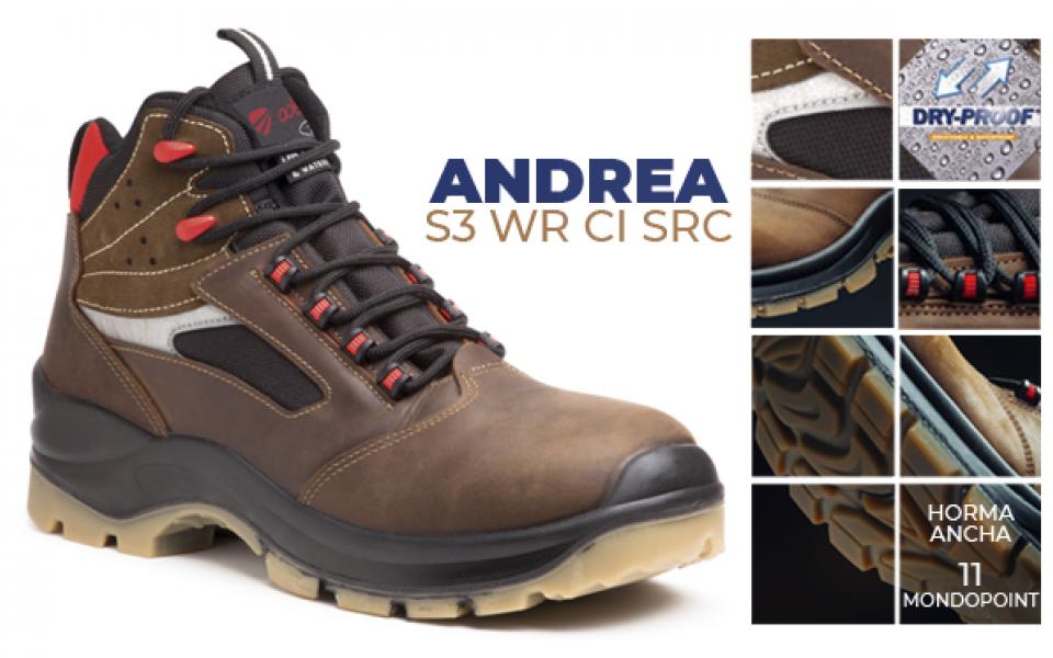 Calzado de protección ADEEPI SHOES: ANDREA confort y durabilidad