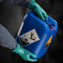Guantes de protección resistente a productos químicos