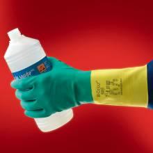 Guantes de protección resistente a productos químicos y líquidos