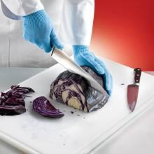 Guantes de protección anticorte para uso alimentario