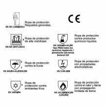PARKA RETARDANTE ALTA VISIBILIDAD MULTINORMA ADEEPI. REF. PFRAV-1125