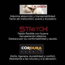 PANTALÓN DE PROTECCIÓN FORTE ALGODÓN STRETCH ADEEPI. REF. 523-COX-28
