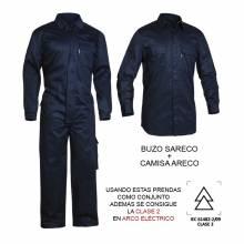 BUZO IGNÍFUGO DE PROTECCIÓN SARECO ADEEPI (ALGODÓN). REF. 127-CFR-30