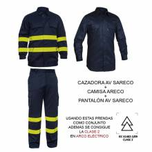 CAMISA IGNÍFUGA DE PROTECCIÓN ARECO ADEEPI (ALGODÓN). REF. 427-CFR-20