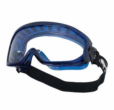 BLASTUN CAMPO DE VISIÓN EXCEPCIONAL Su confort, absolutamente incomparable y su modularidad la hacen indispensable. Con su accesorio VISOR, puede ser utilizada como gafa panorámica y como pantalla facial, para una garantía de protección equivalente. -Campo de visión panorámico -Cinta ajustable, rótula giratoria -Canal de desbordamiento para los líquidos -Se pueden usar gafas correctoras -Se puede usar igualmente una media máscara respiratoria -113g -VERSION: aireada. REFERENCIA: BLAPSI. TRATAMIENTOS: ASAF